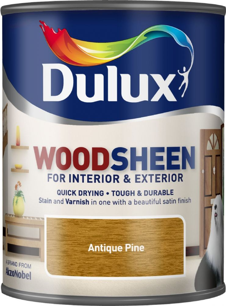 Dulux Interior & Exterior Woodsheen Stain & Varnish 750ml